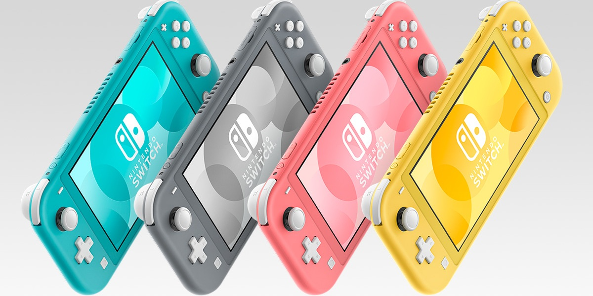 Nintendo has enough Switch Lite stock to get through the end of the fiscal year.
