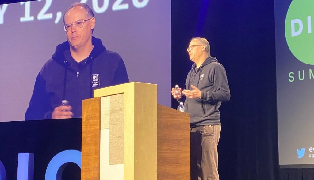 Tim Sweeney, PDG d'Epic Games, a fait valoir pour rendre l'industrie du jeu plus ouverte au cours de la prochaine décennie lors du sommet Dice 2020.
