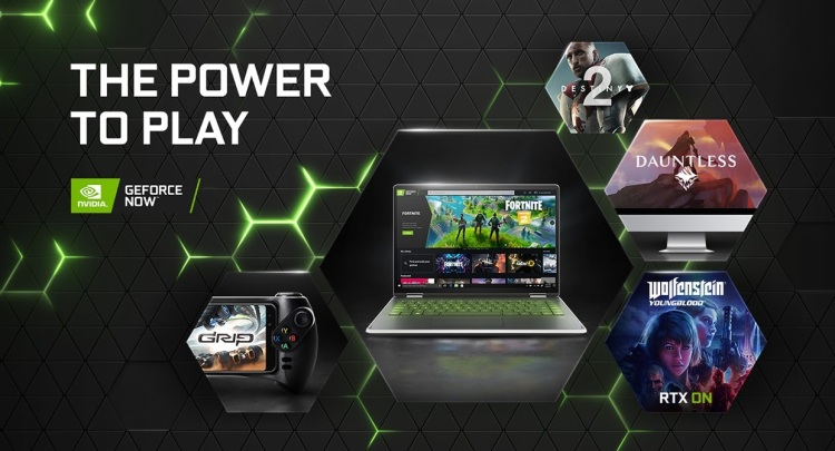 GeForce Now has a free option and a paid option for $5 a month.