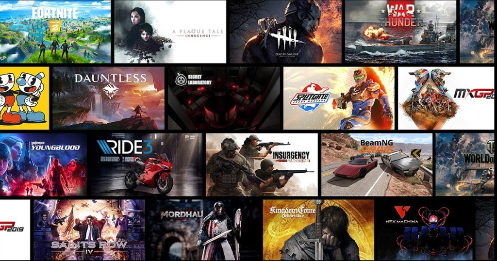 GeForce Now offers 300 instant games.