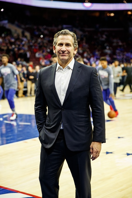 David Abrams will lead investments for 76ers owner Harris Blitzer.