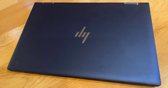 The HP Elite Dragonfly has a beautiful anodized magnesium case.