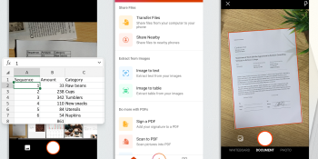 Office for Android screenshots