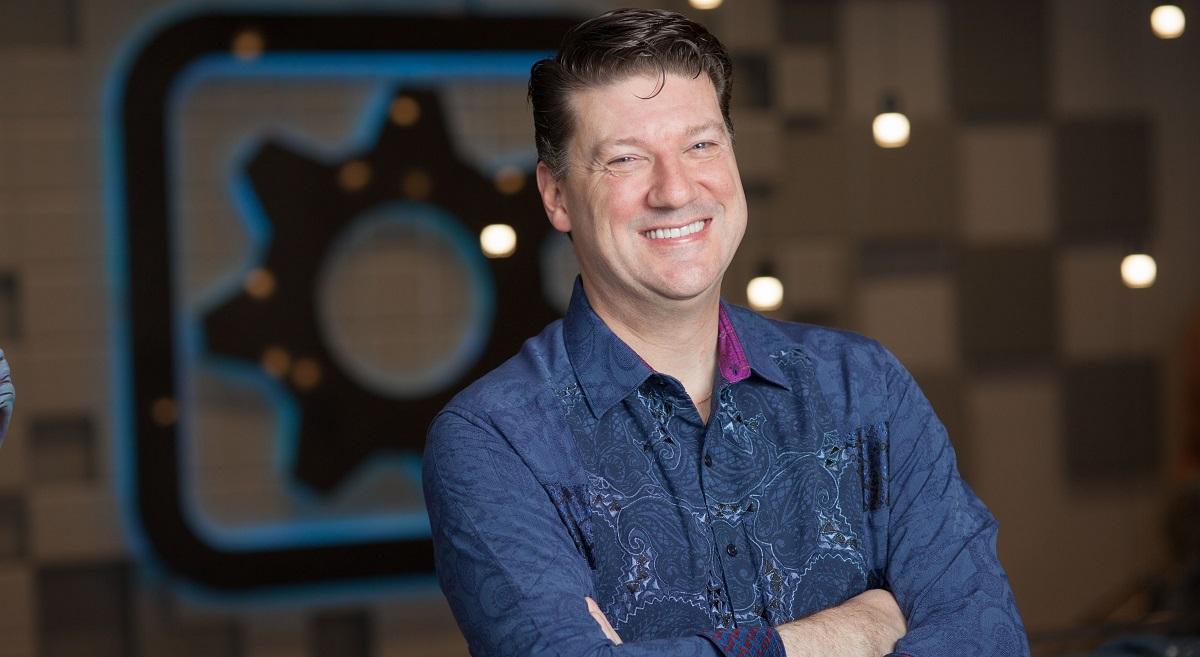 GamesBeat Summit speakers: Randy Pitchford, Shannon Loftis, and Mitch Lasky
