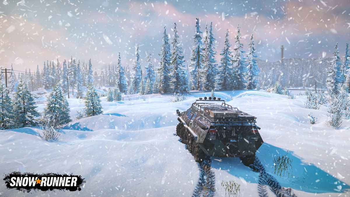 SnowRunner review-in-progress — Thrilling vehicular action at 3MPH