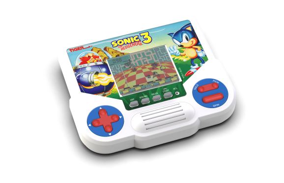 Sonic The Hedgehog 3 from Tiger Electronics is making a comeback.
