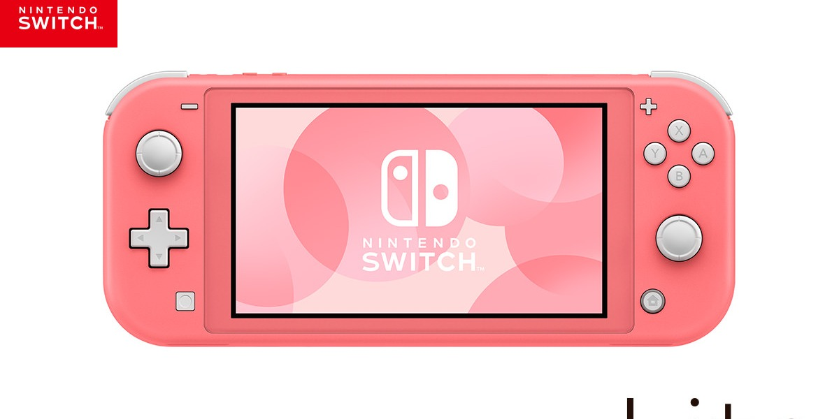 The newest color Nintendo Switch Lite.