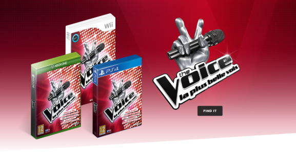 The Voice is one of Voxler's games.