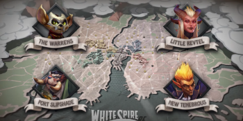 Some of the villains aiming to take over the city of White Spire in Dota Underlords Season One.