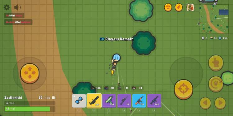 ZombsRoyale.io from End Game Interactive.