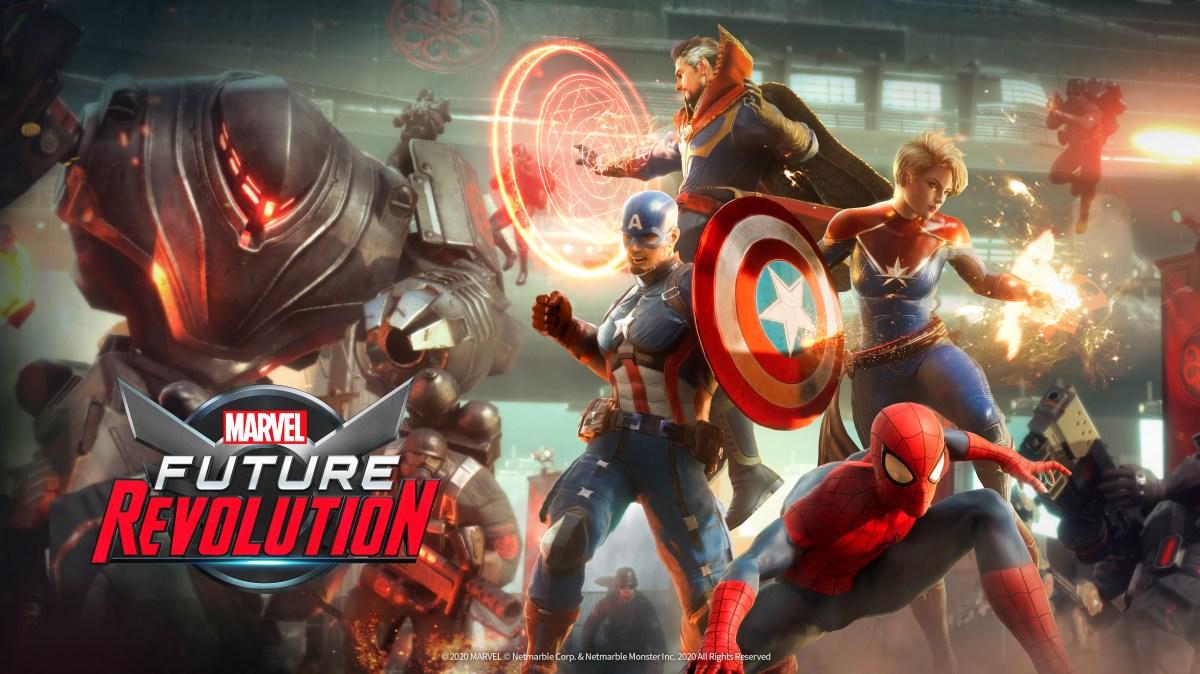 Marvel: Future Revolution is an open-world RPG for mobile