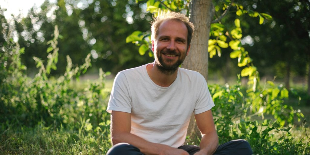 Ecosia CEO and founder Christian Kroll