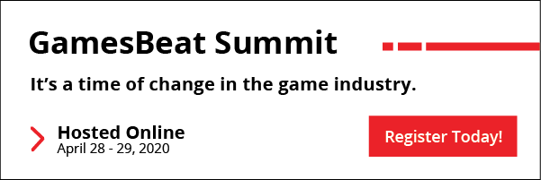 GamesBeat Summit - It's a time of change in the gaming industry. Hosted online from April 28th to 29th.