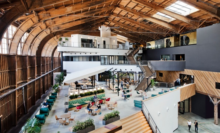 Google's new studio in Playa Vista.