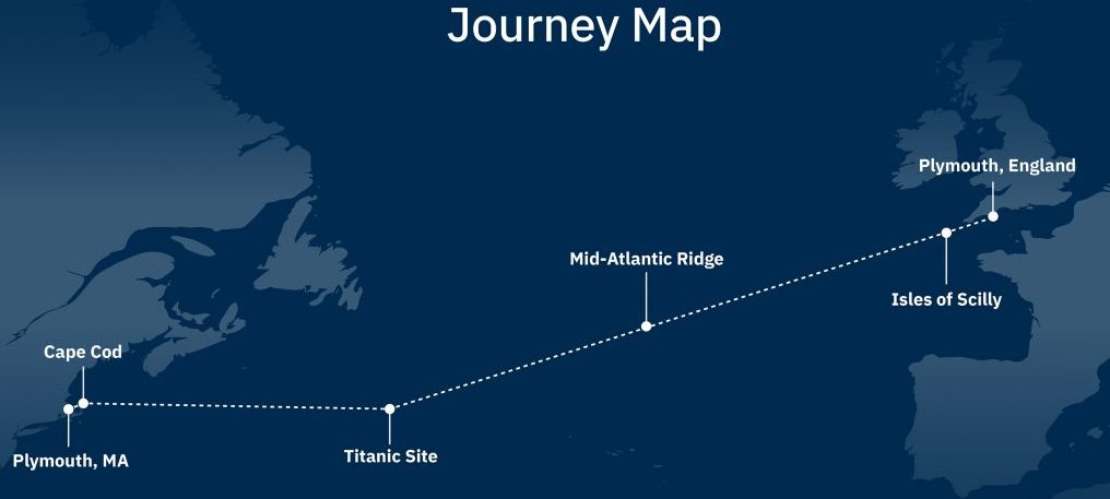AI, AI, Captain! How the Mayflower Autonomous Ship will cross the Atlantic
