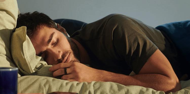 Oura smart ring tracks sleeping habits