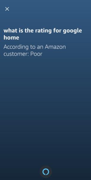 Alexa Answers example