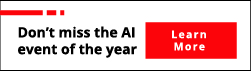 Don't miss the AI event of the year
