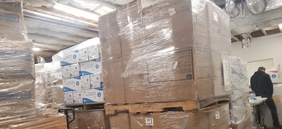 AvaCare Medical's warehouses are working around the clock.
