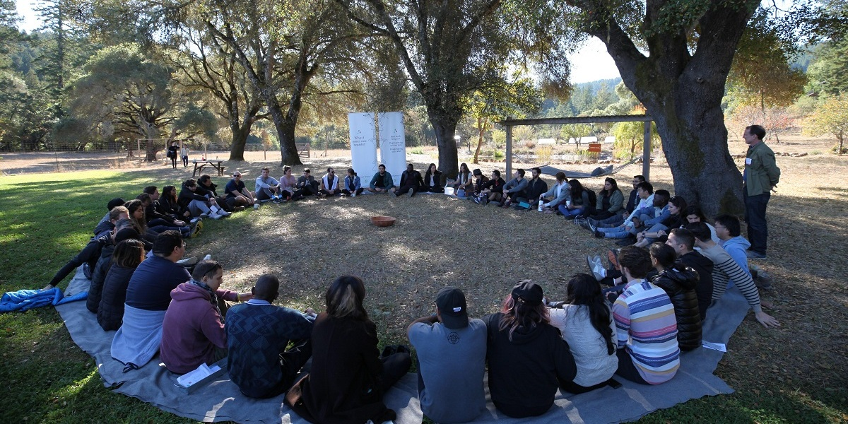 Gathering of Celo community members in Northern California.