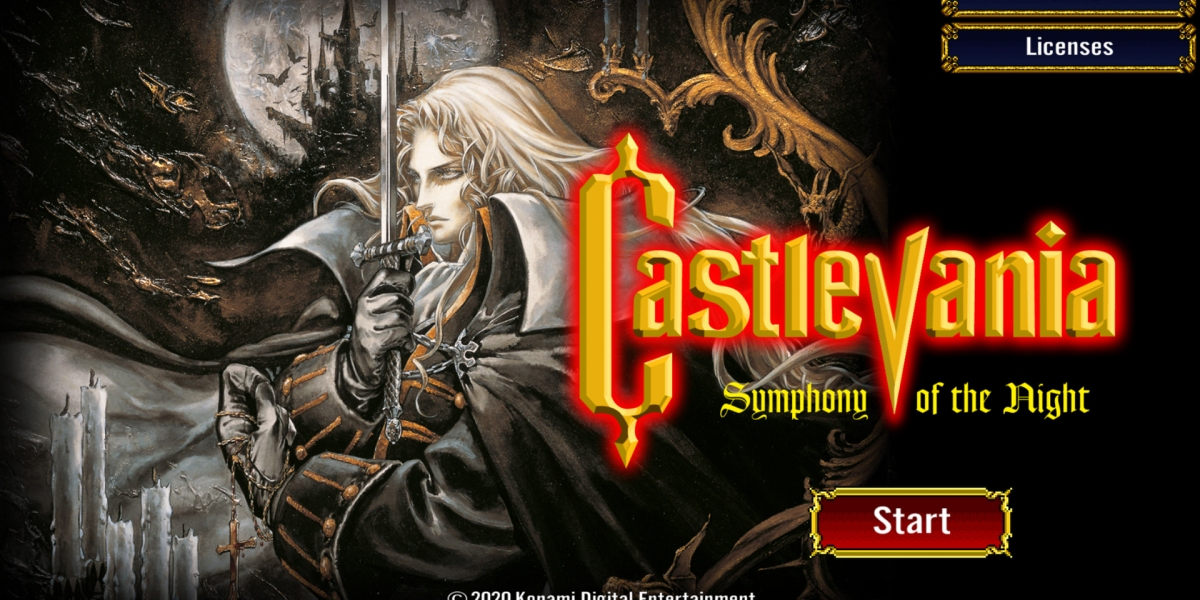 Castelvania: Symphony of the Night.