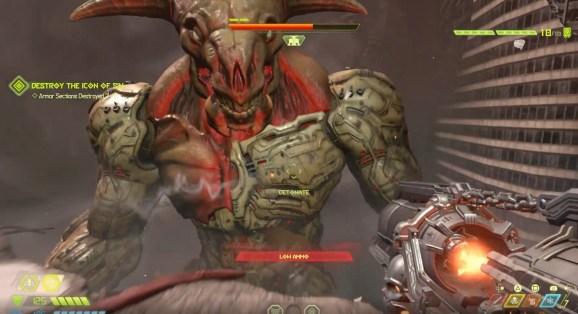 Doom Eternal's Icon of Sin.