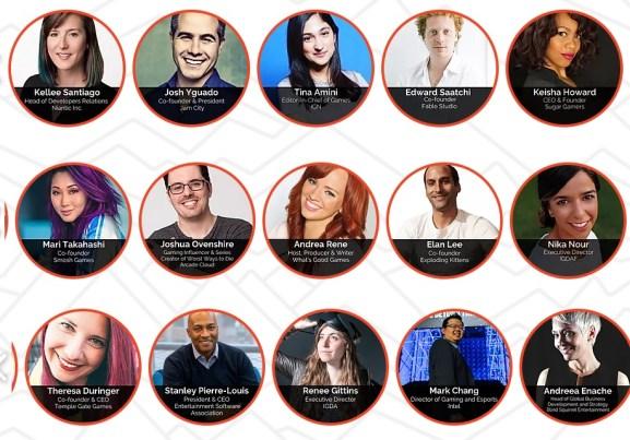 GamesBeat Summit Digital speakers.