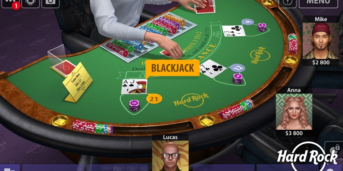 KamaGames is making a Hard Rock-branded Blackjack app.