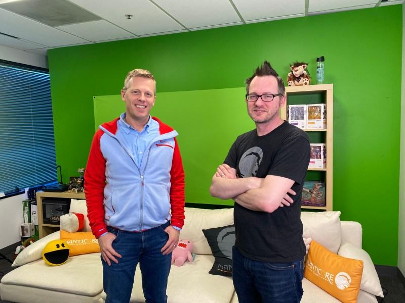 Frederic Descamps (links) und Jordan Maynard sind Mitbegründer von Manticore Games.