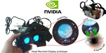 Nvidia develops lightweight VR gaze tracking system using LED sensors