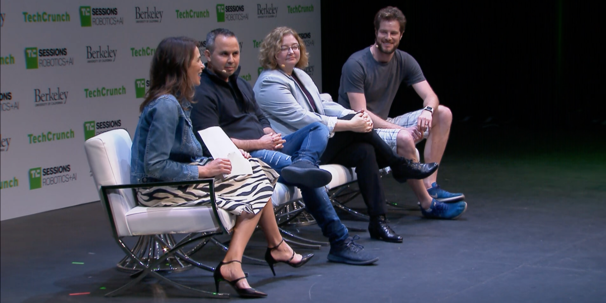 Left to right: TechCrunch Jocelyn Goldfein is managing director of Zetta Venture Partners