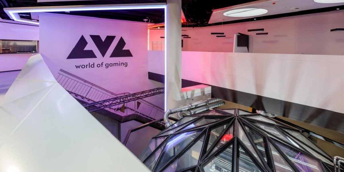 Veritas' LVL is an esports venue for up to 200 attendees.