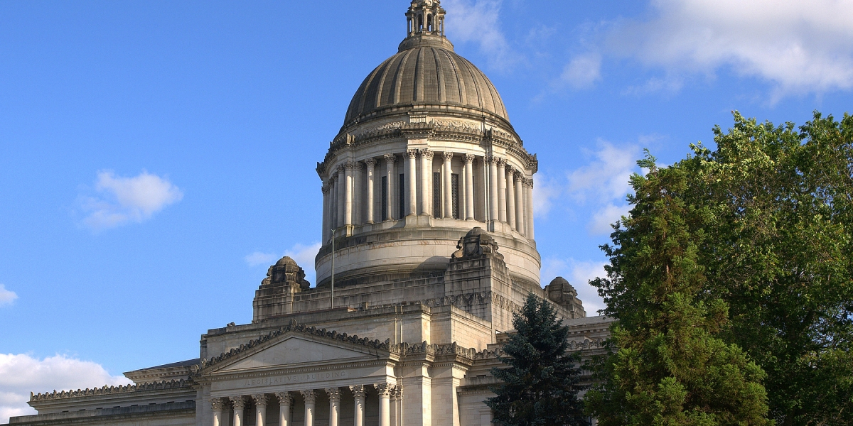 Washington State Capitol building in Olympia, Washington