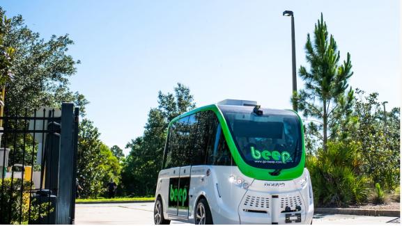 Beep autonomous shuttle