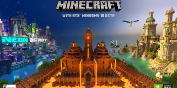 Minecraft with RTX launches April 16, and it is breathtaking