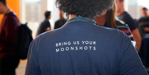 SkyDeck slogan: Bring us your moonshots