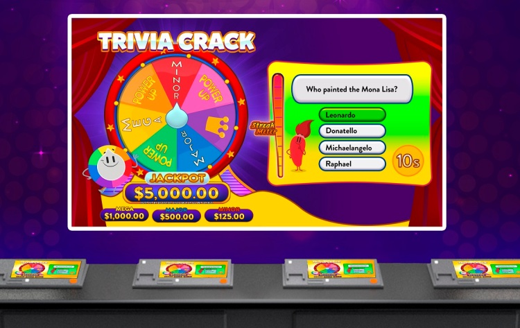 Trivia Crack gambling machines are coming your way.