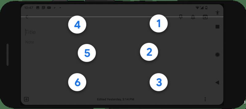 Google braille keyboard