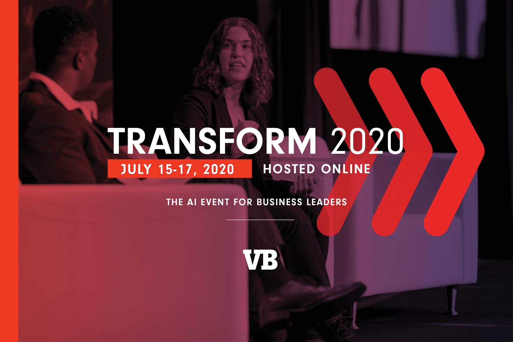 venturebeat.com - VB Staff - Transform 2020: 4 days of deep-dive AI learning