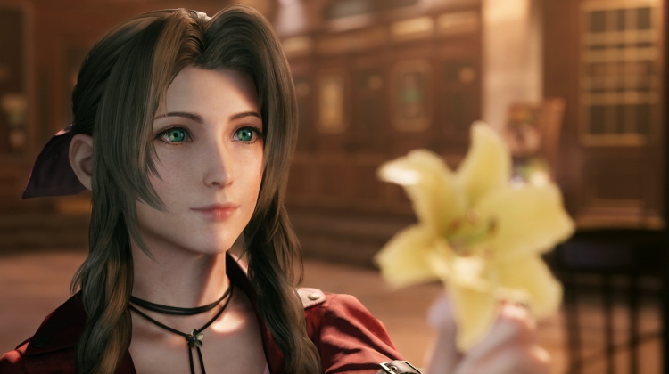 Aerith is more adorable than ever.