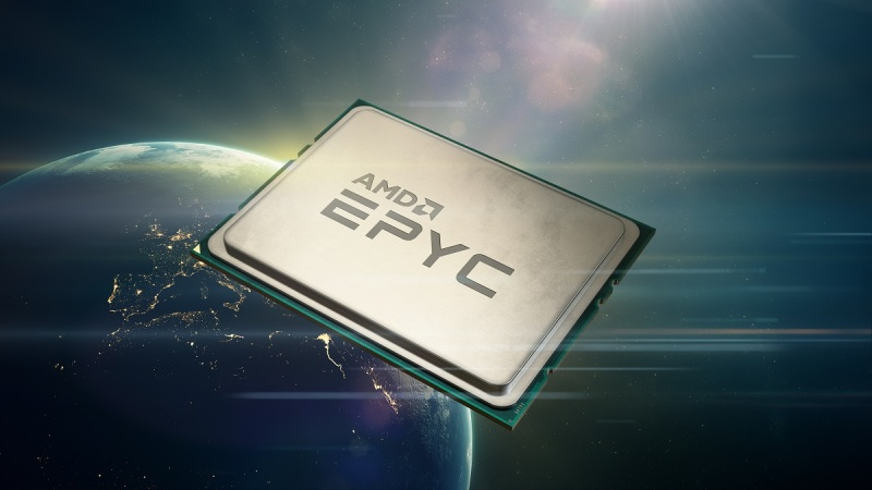 AMD's Second Gen Epyc processor, code-named Rome.