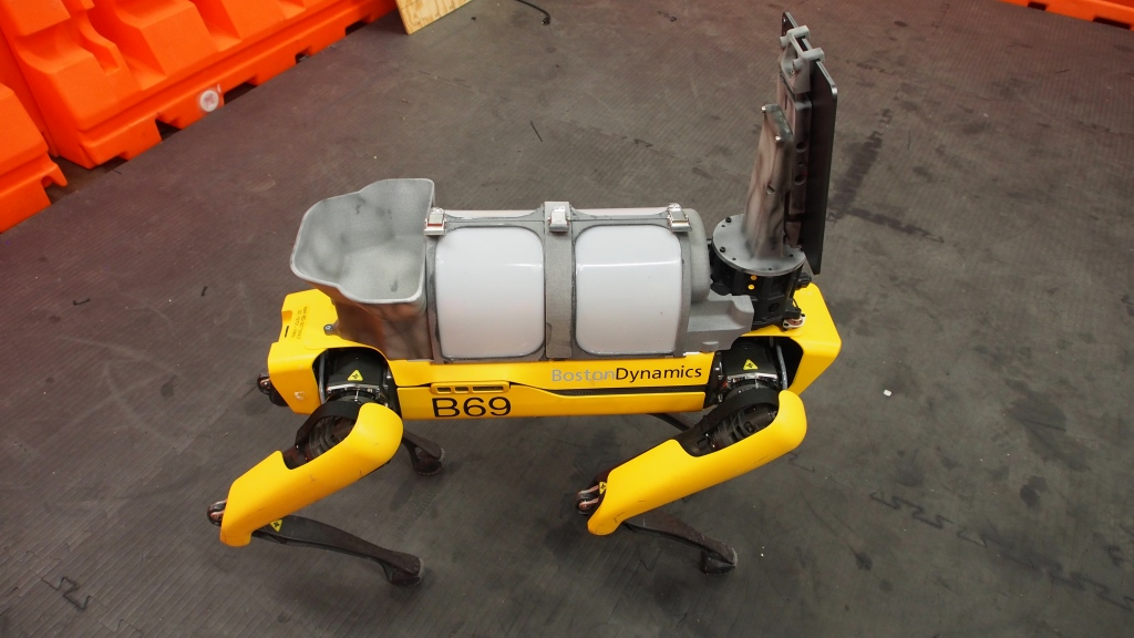 Boston Dynamics' Spot robot telemedicine