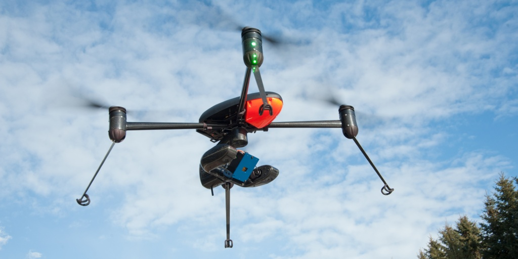 Draganfly X4-P with Tetracam