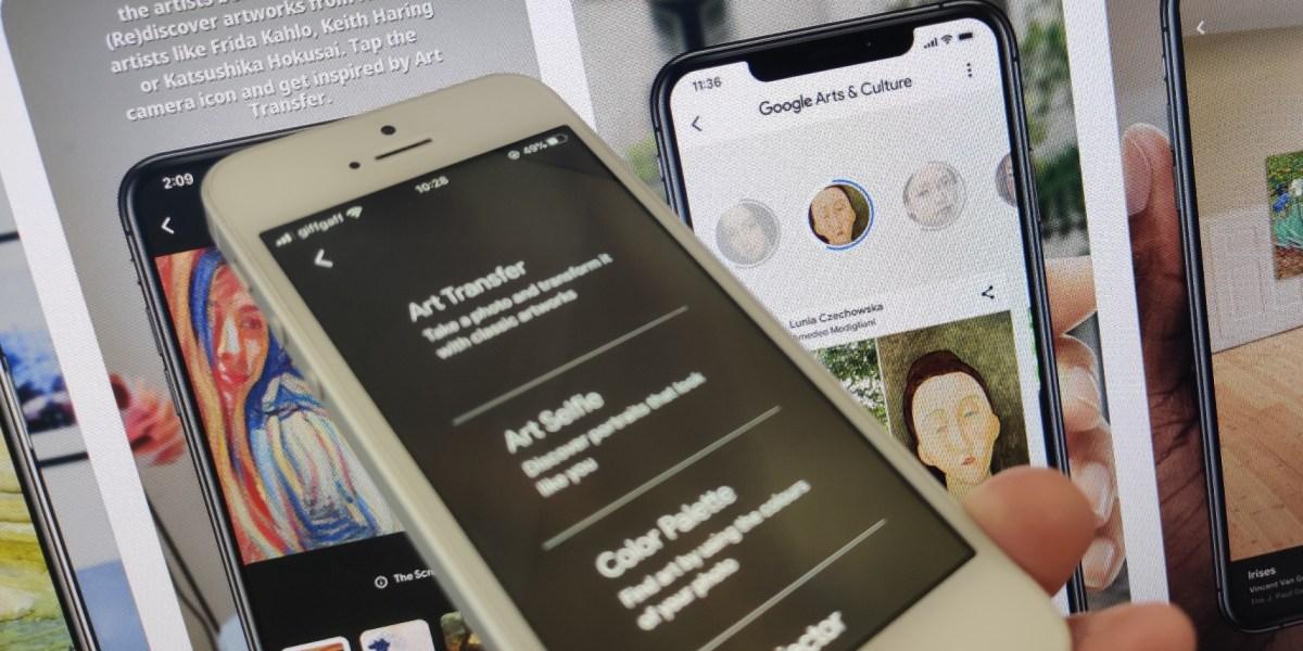 Google's new Art Transfer tool