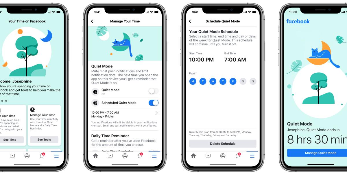 Facebook: Mute notifications
