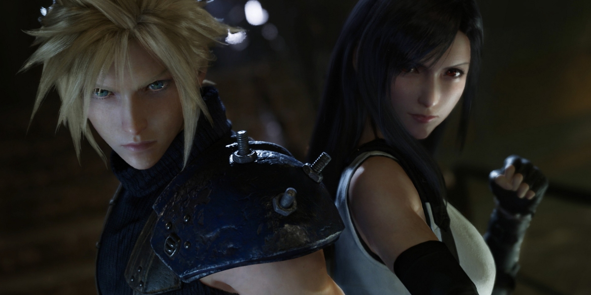 Cloud and Tifa.