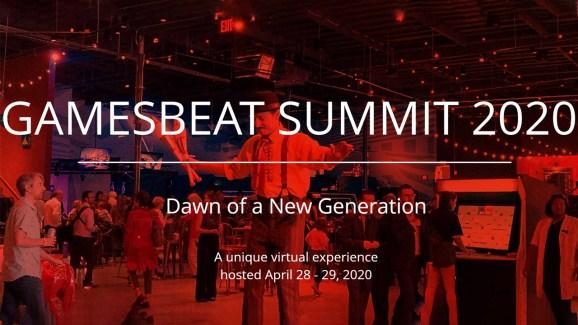 GamesBeat Summit 2020