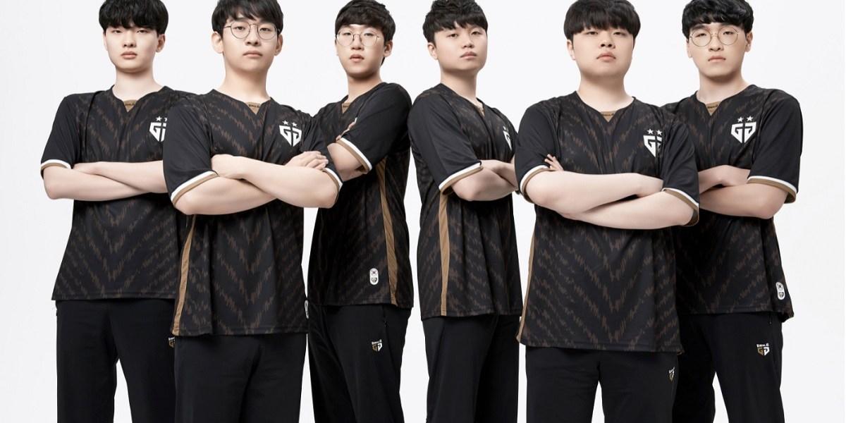 Gen.G's League of Legends team for Korea.