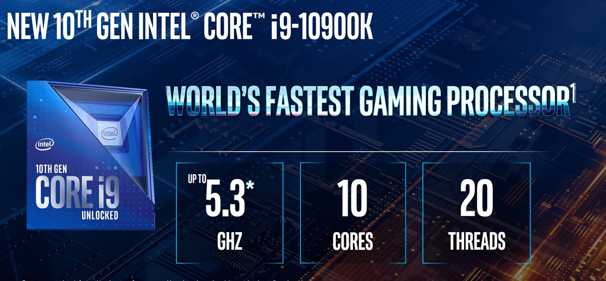 Intel claims it has the fastest gaming processor.