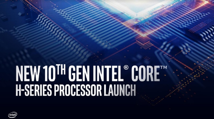 10th Gen Intel Core H-Series processors are hitting the market in laptops in April.